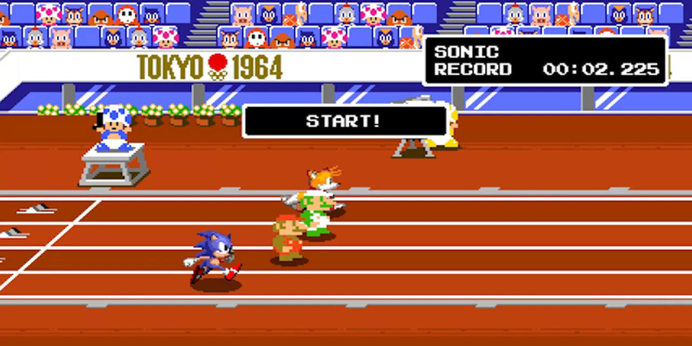 Mario & Sonic at the Olympic Games Tokyo 2020 sprinting onto the Switch in November