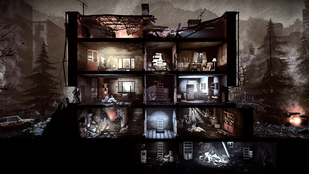 Survive a merciless war when This War of Mine comes to Nintendo Switch