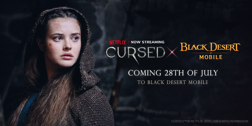 Pearl Abyss reveals Black Desert Mobile X Cursed, Netflix crossover campaign