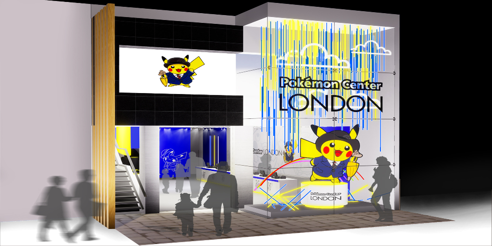 Pokemon Center öppnar i London under en begränsad tid