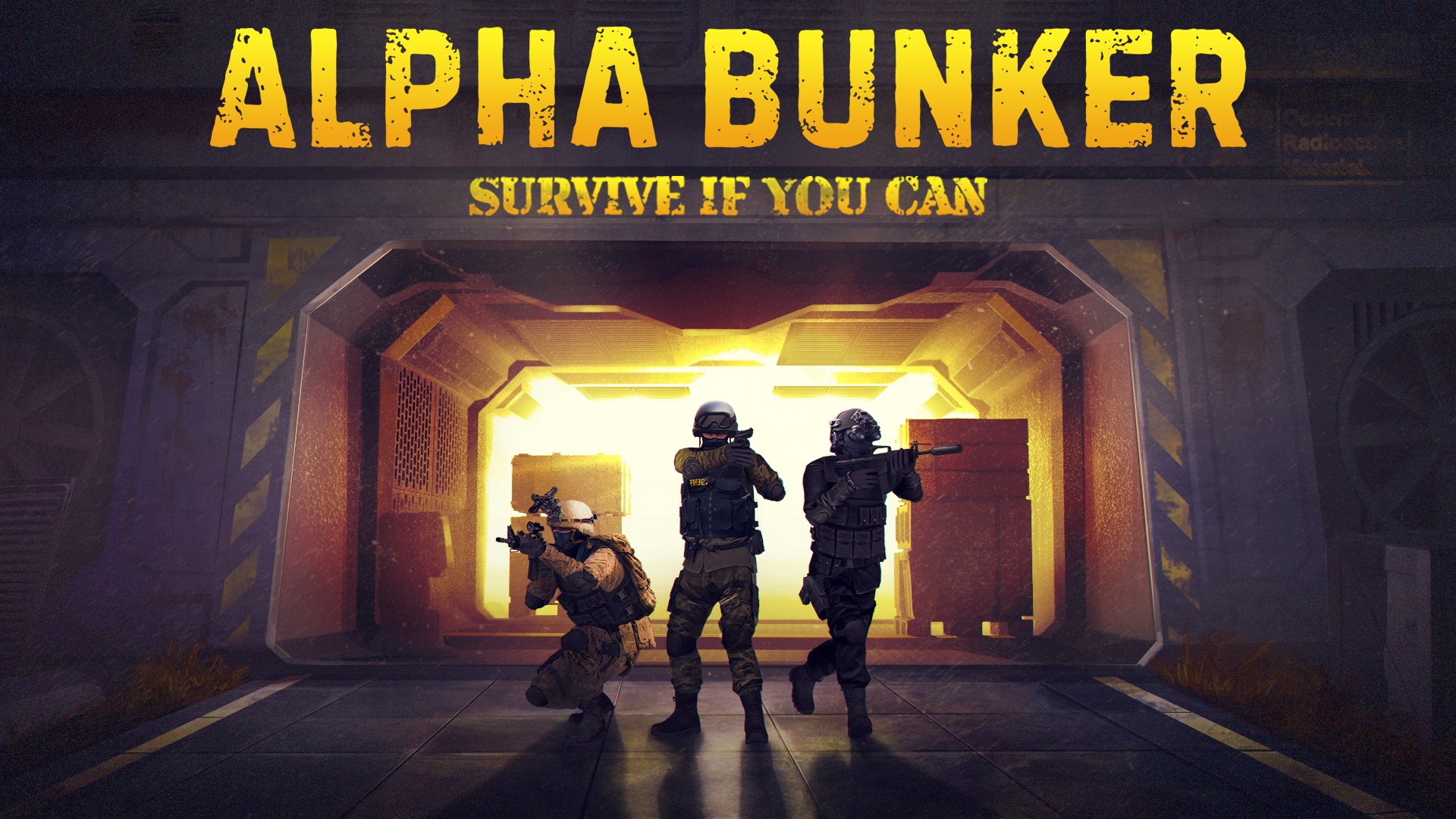 Black Void Studios told us why you should fund Alpha Bunker, now live on Kickstarter