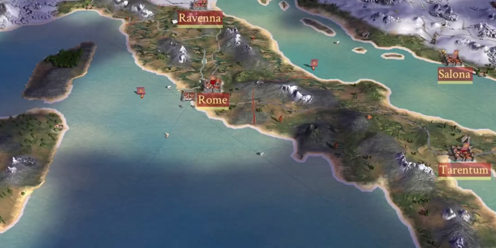 ROME: Total War - Barbarian Invasion is now available on iPhone