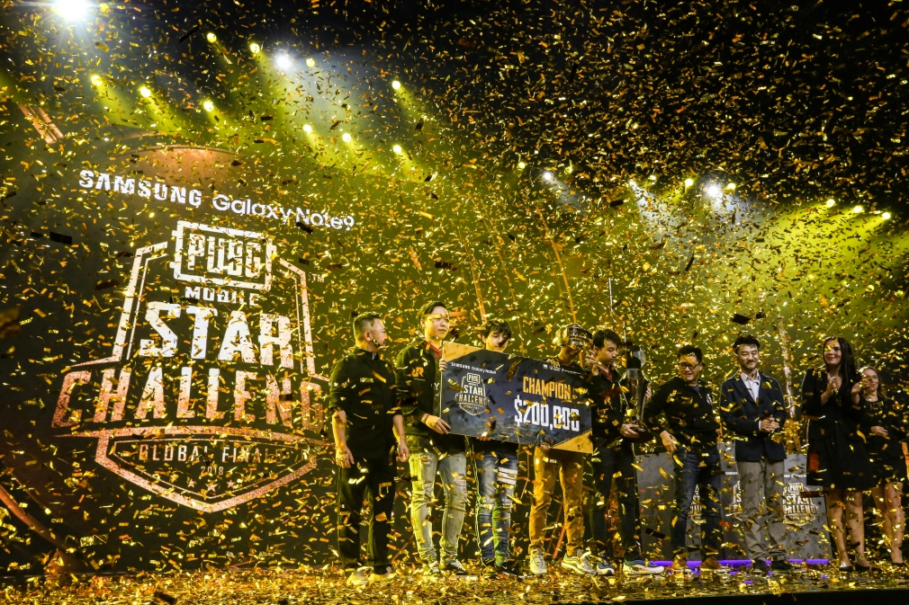 RRQ Athena declared champions of the PUBG Mobile Star Challenge 2018