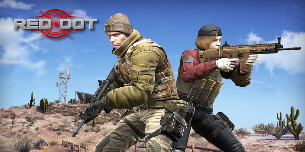 Red Dot is an upcoming multiplayer FPS for Android that