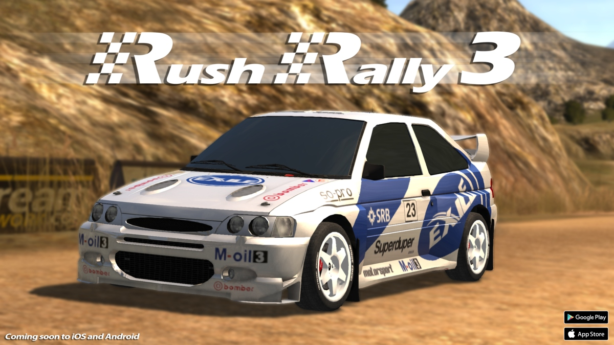 Register now to take Rush Rally 3