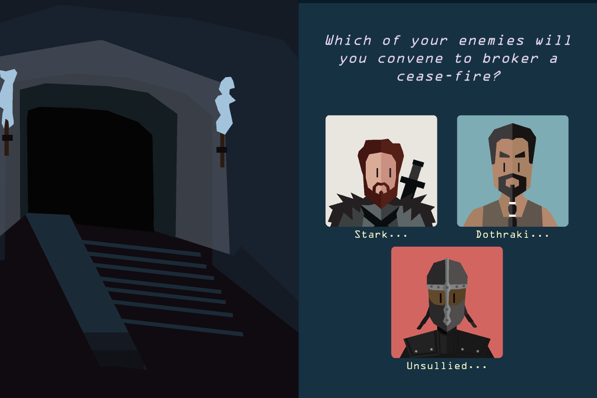 Reigns: Game of Thrones is out right this second