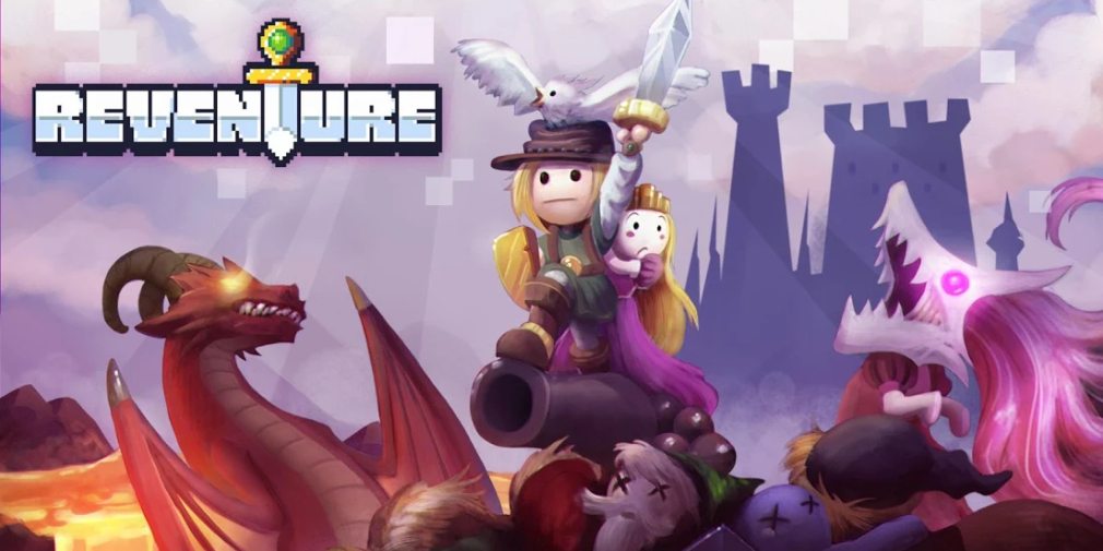 Reventure, the critically acclaimed comedy adventure game, launches for iOS and Android