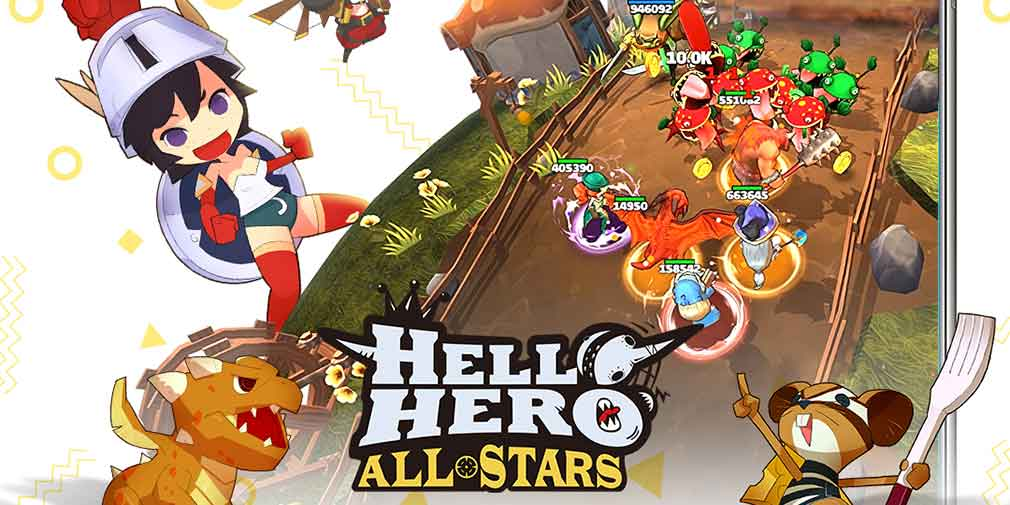 Brand new heroes introduced in Hello Hero All Stars' latest update