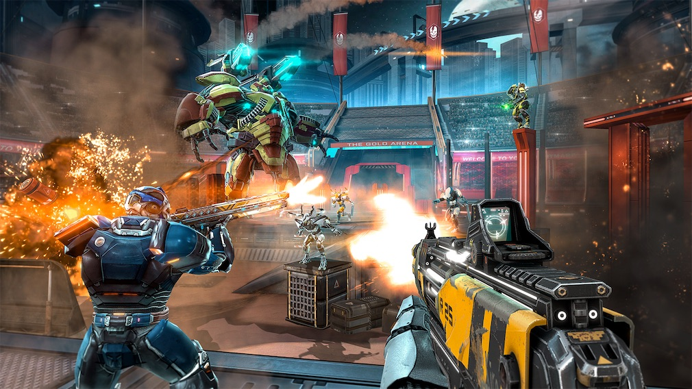 Shadowgun Legends just got bigger and better with its latest update