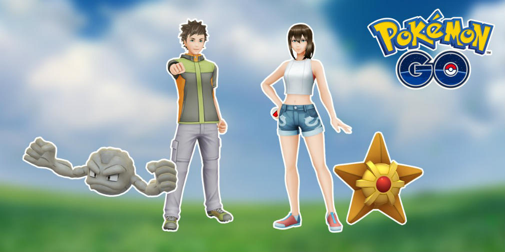 Get yourself some Brock and Misty digs in Pokemon GO