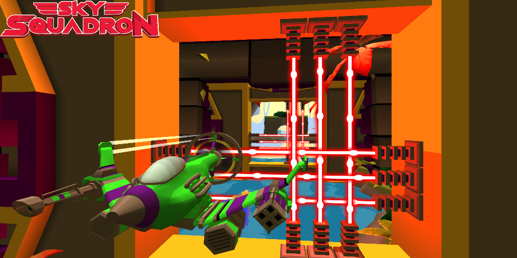 Sky Squadron is an explosive on-rails shooter that's now in open beta