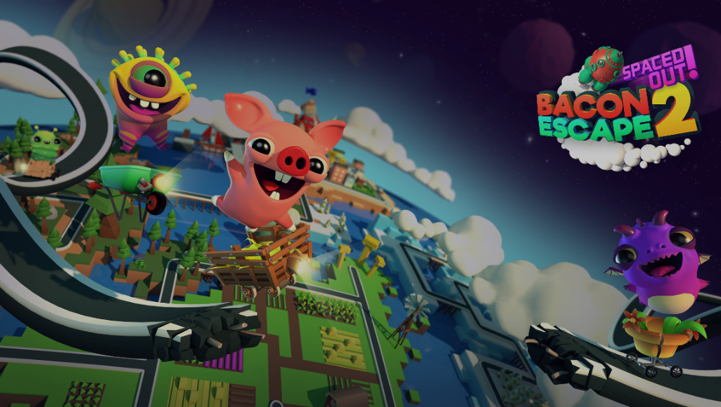 Save a pig from the slaughterhouse in cheery auto-runner Bacon Escape 2 for iOS