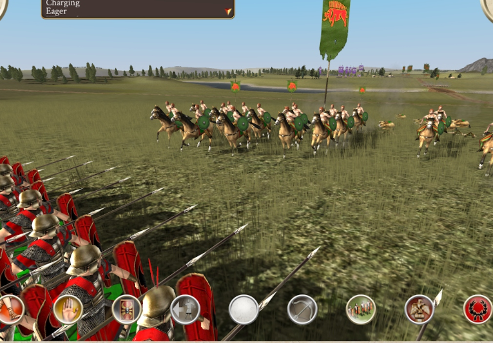 Gameplay footage shows ROME: Total War working beautifully on Android