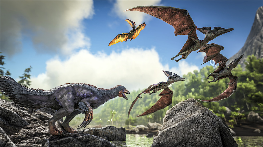 Tame dinosaurs on Nintendo Switch with ARK: Survival Evolved