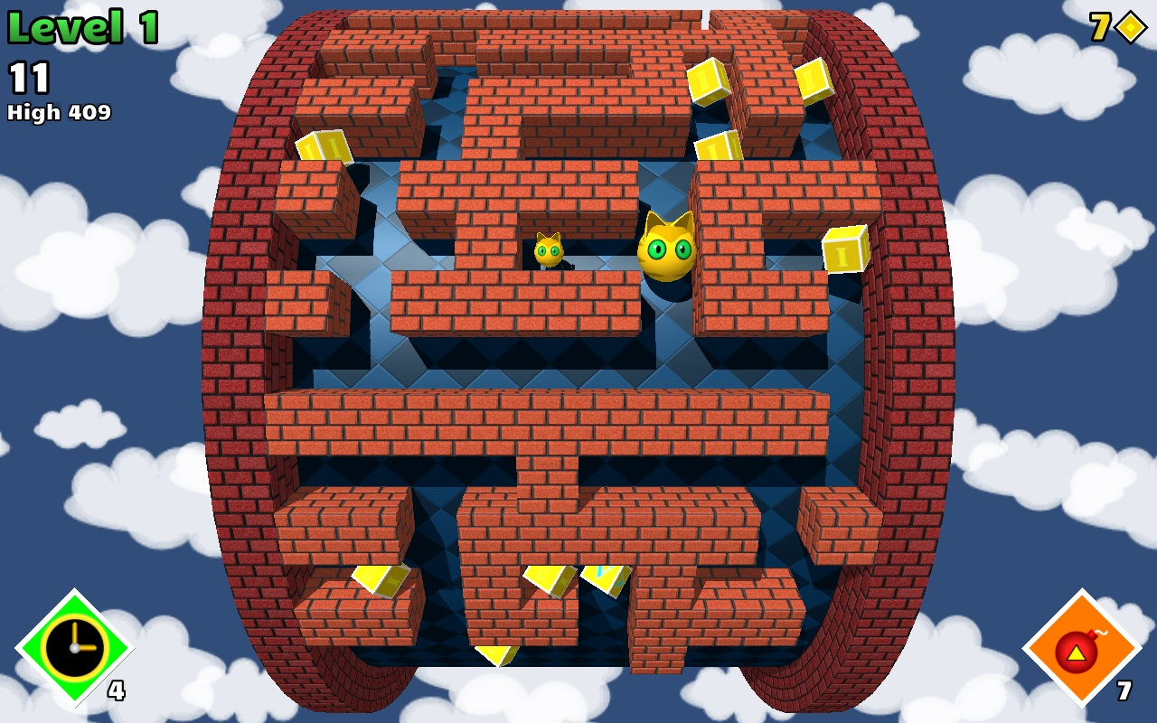 Explore an endless labyrinth in infinite maze game MazEpic